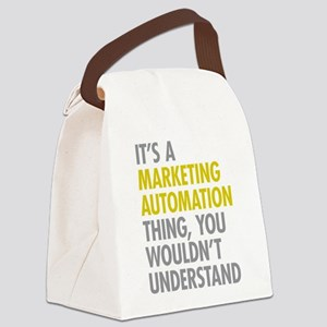 Marketing Automation Canvas Lunch Bag