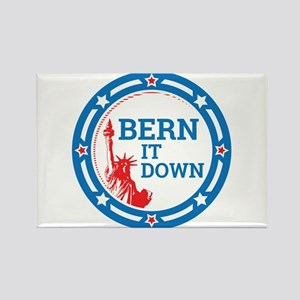 Bern it Down Rectangle Magnet