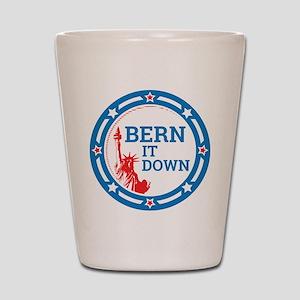 Bern it Down Shot Glass