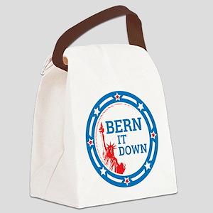 Bern it Down Canvas Lunch Bag