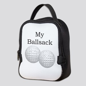 Golf Ball Sack - Ballsack Neoprene Lunch Bag