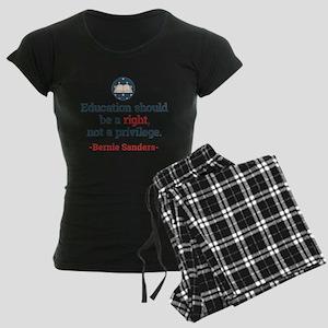 Education Bern Women's Dark Pajamas
