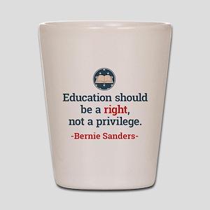 Education Bern Shot Glass