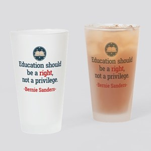 Education Bern Drinking Glass