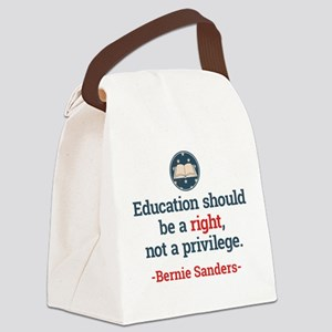 Education Bern Canvas Lunch Bag
