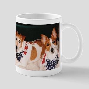 Patriotic Jack Russells Mug