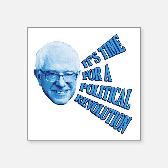 "Revolution Time Square Sticker 3"" x 3"""