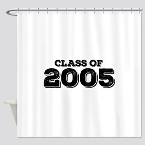 Class of 2005 Shower Curtain