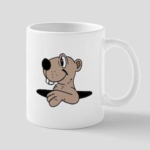 Gopher cartoon Mugs