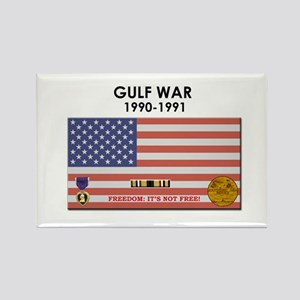 Gulf War Rectangle Magnet