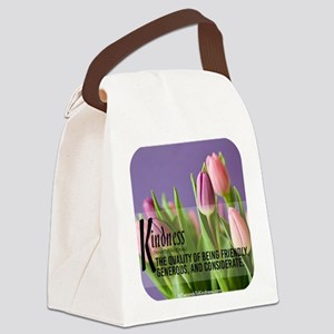 Kindness Defined Canvas Lunch Bag
