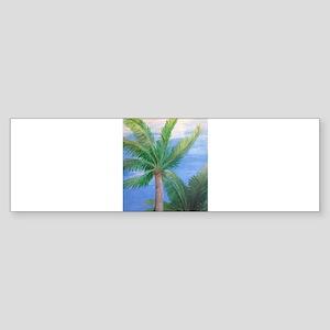 Palms Blowing in the Wind, Key West Bumper Sticker