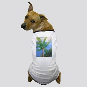 Palms Blowing in the Wind, Key West Dog T-Shirt