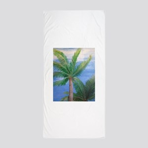 Palms Blowing in the Wind, Key West Beach Towel
