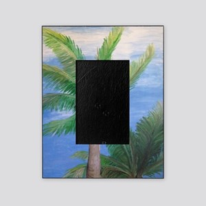 Palms Blowing in the Wind, Key West Picture Frame