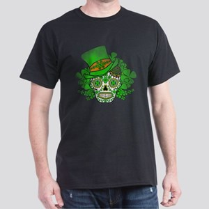 St.Patricks Day Skull Vintage T-Shirt