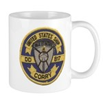 USS CORRY Mug