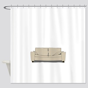 Couch Shower Curtain