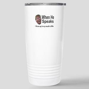 when the Don Speaks Travel Mug