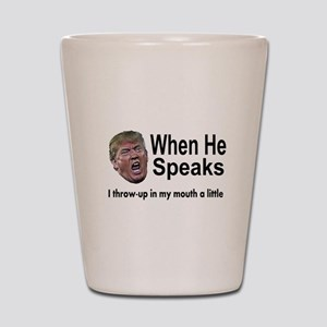 when the Don Speaks Shot Glass