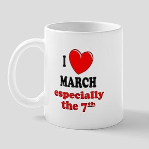 March 7th Mug