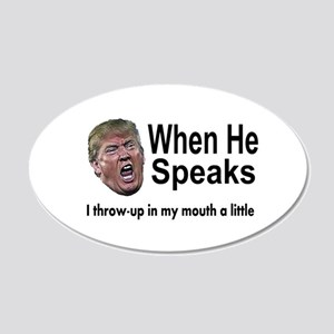 when the Don Speaks Wall Decal