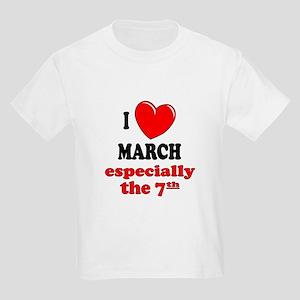 March 7th Kids Light T-Shirt