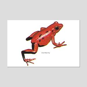Red Arrow-Poison Frog Mini Poster Print