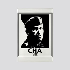 Hugo Chavez Rectangle Magnet