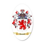 Rousell Oval Car Magnet