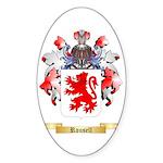 Rousell Sticker (Oval 10 pk)