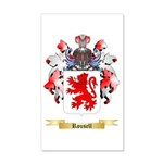 Rousell 20x12 Wall Decal