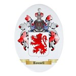 Rousell Oval Ornament