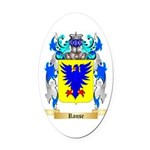 Rouse Oval Car Magnet
