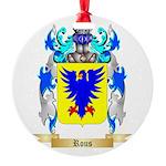 Rous Round Ornament
