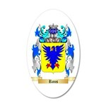 Rous 20x12 Oval Wall Decal