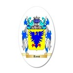 Rous 35x21 Oval Wall Decal