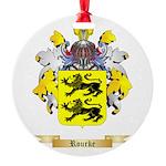 Rourke Round Ornament
