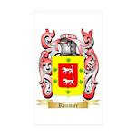 Roumier Sticker (Rectangle 50 pk)