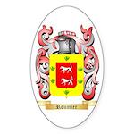 Roumier Sticker (Oval 50 pk)