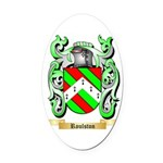Roulston Oval Car Magnet