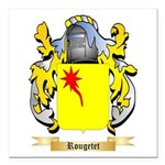 Rougetet Square Car Magnet 3