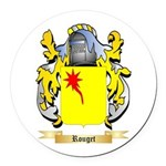 Rouget Round Car Magnet