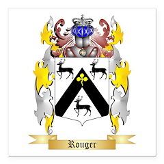 Rouger Square Car Magnet 3