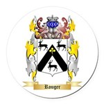 Rouger Round Car Magnet