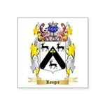 Rouger Square Sticker 3