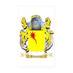 Rougeaux Sticker (Rectangle 50 pk)
