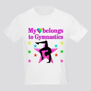 GYMNAST GIRL Kids Light T-Shirt