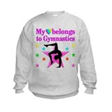 Gymnastics girls Crew Neck