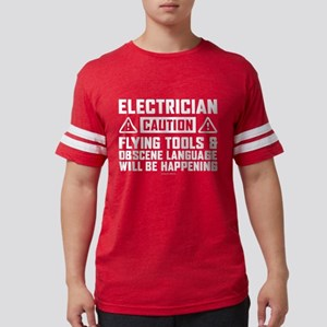 Caution Electrician T-Shirt